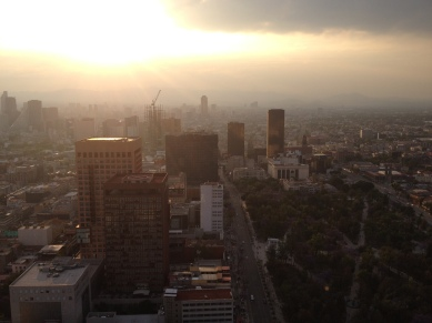 Torre Latinoamericana offers spectacular views out over Mexico City