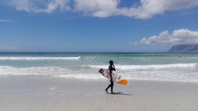 Muizenberg - pretty obsessed with surfing!
