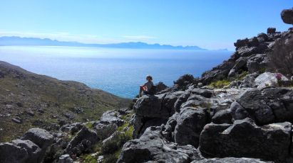 Kalk Bay to Boomslang Cave Hike: Take that view!