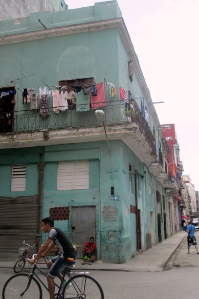 Getting lost in the streets of Old Havana...
