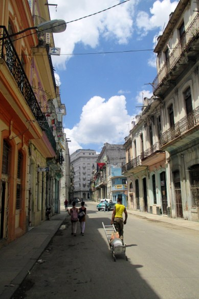 What is a typical day like in Havana? Peaceful and great to just walk around and get lost in this city.