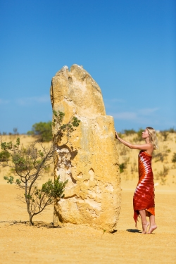 Beautiful Pinnacle rising out of the desert floor like something from a lunar landscape ©Mick Eidam Photography