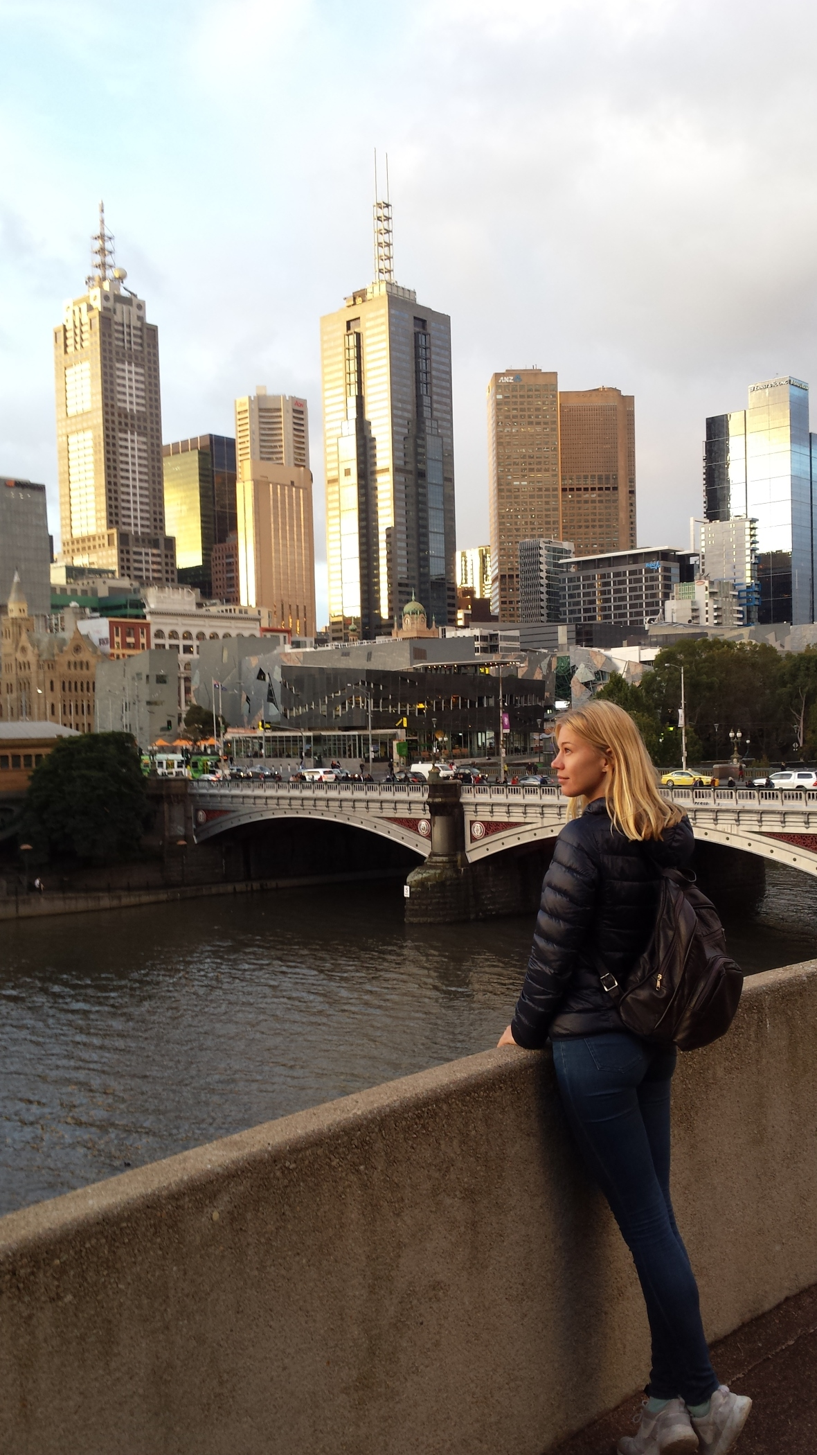 view over the Yarra river