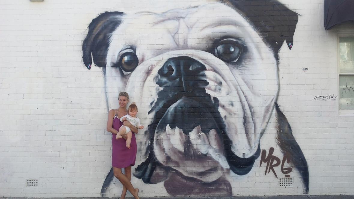 Bondi Promenade Graffiti