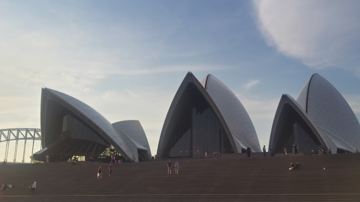 roofs Sydney Opera House
