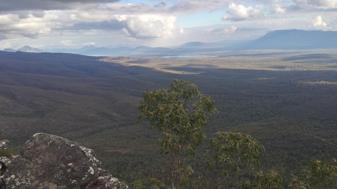 Blick aufs Victoria Valley