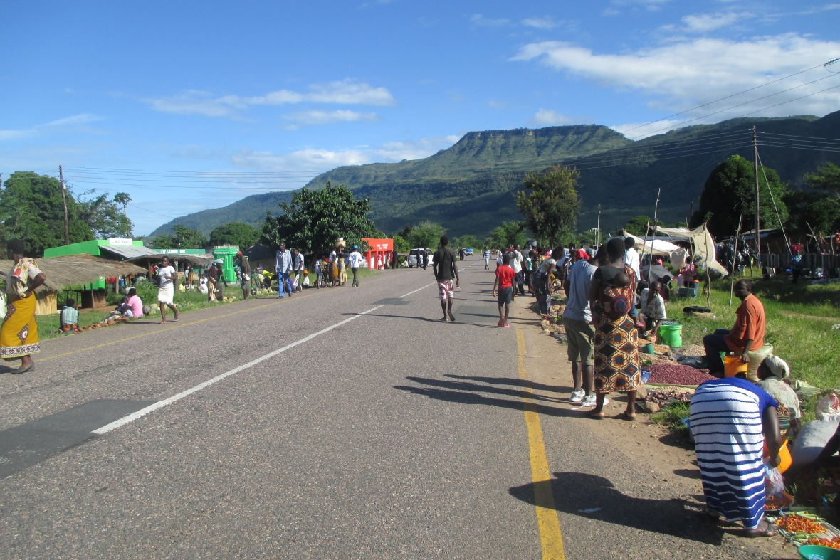 Malawi street life