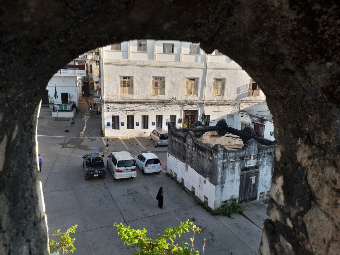 Glimpse of Stone Town