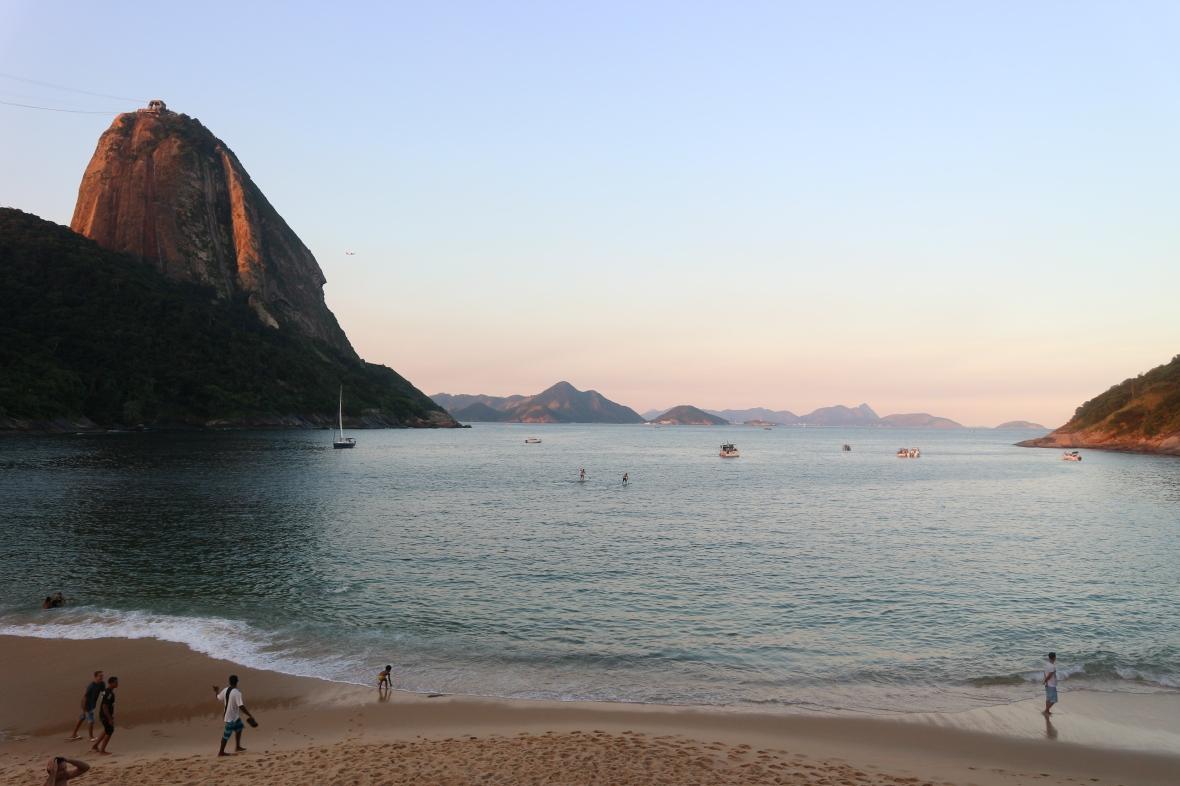 red beach Rio