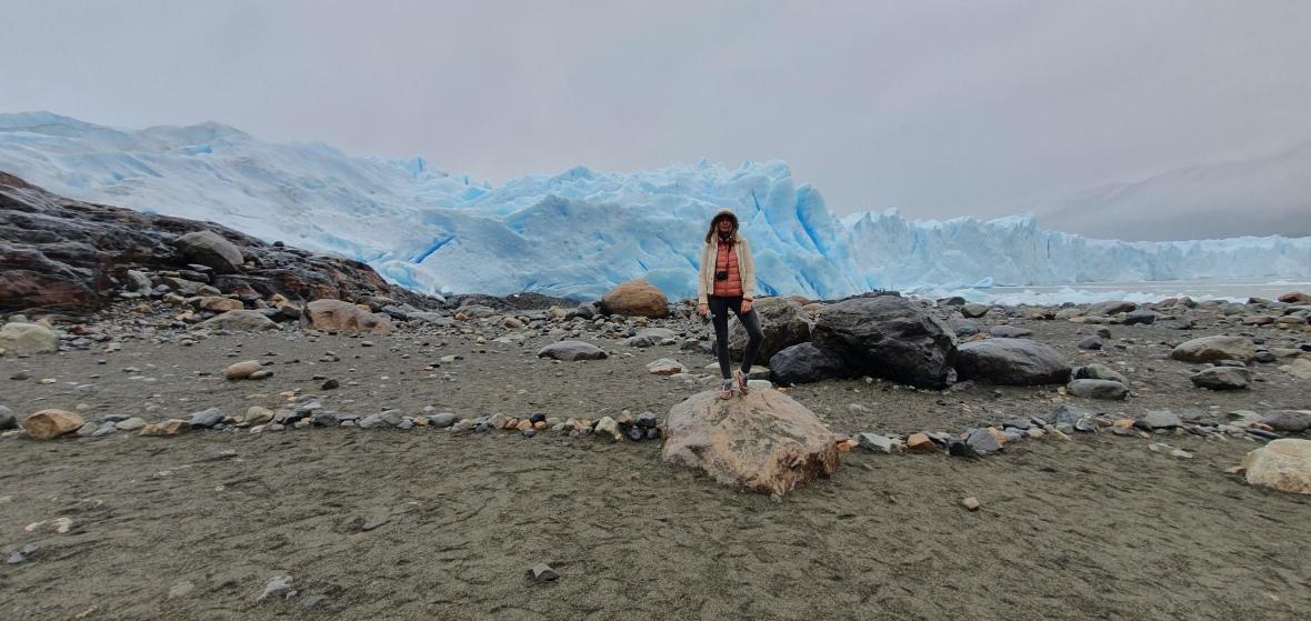 perito moreno ice field