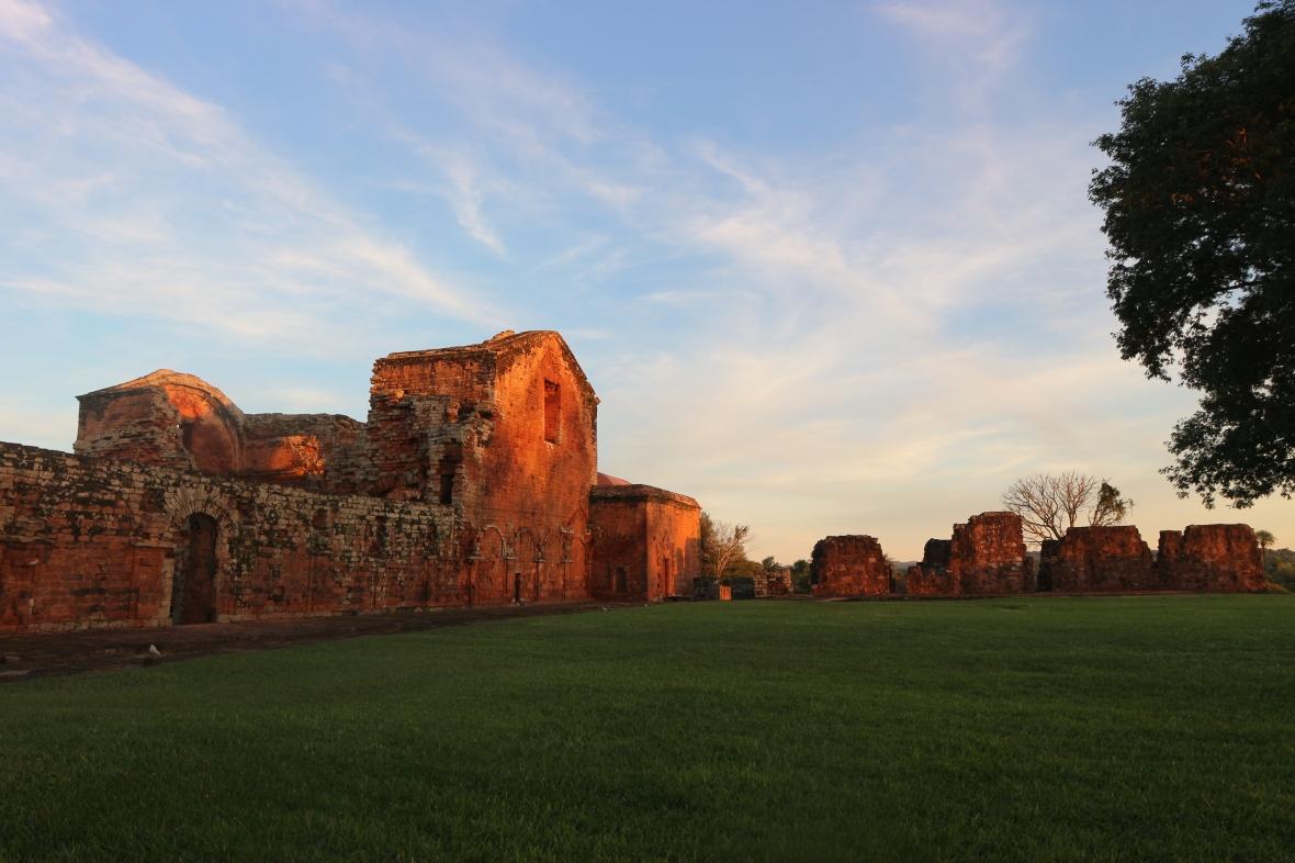 Trinidad red ruins